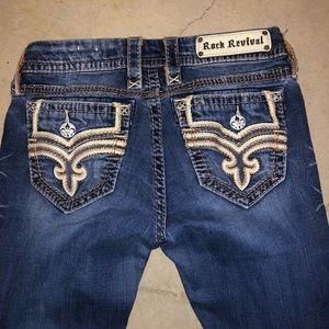 Rock revival skinny jeans size 28